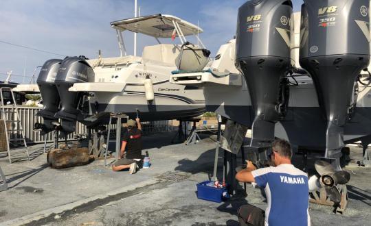 Entretien - Carénage - Hivernage de bateau